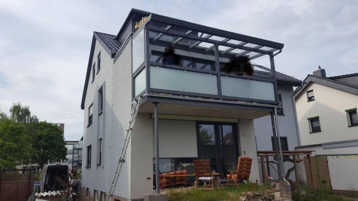 Balcony Roofing Bar 220 Berdachung