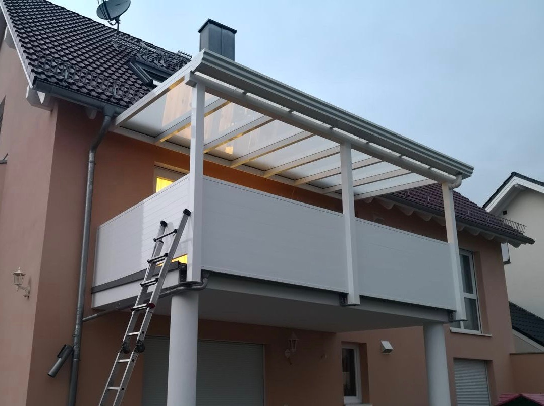 Gut gemocht Balkonüberdachungen   Bar Überdachung PU83